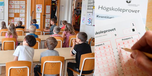 I dag gor 50 000 svenskar hogskoleprovet