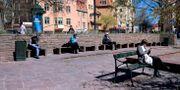 Social distansering. Janerik Henriksson/TT / TT NYHETSBYRÅN