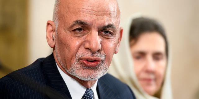 Afghanistans president Ashraf Ghani  Fabrice Coffrini / TT NYHETSBYRÅN/ NTB Scanpix