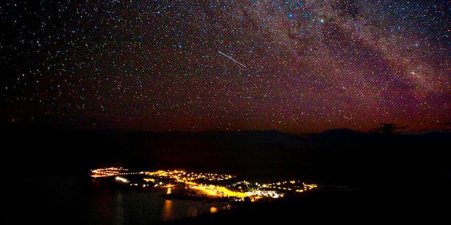 Stjärnhimmel sedd från Nya Zeeland. Martin Hunter / TT NYHETSBYRÅN
