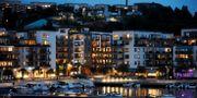 Hammarby sjöstad i Stockholm.  Hasse Holmberg/TT / TT NYHETSBYRÅN
