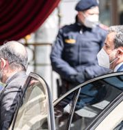 Irans delegationsmedlemmar i Wien.  Florian Schroetter / TT NYHETSBYRÅN