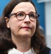 Utbildningsminister Anna Ekström (S) Fredrik Sandberg/TT / TT NYHETSBYRÅN