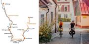 Totalt blir det 26 mil cykelled. Region Skåne/Apelöga