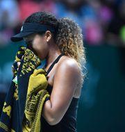 Naomi Osaka.  ROSLAN RAHMAN / AFP