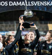 Göteborg FC firar guldet 15 november Björn Larsson Rosvall/TT / TT NYHETSBYRÅN