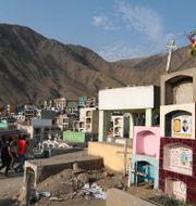 Kyrkogård i Lima, Peru/Arkivbild Martin Mejia / TT NYHETSBYRÅN