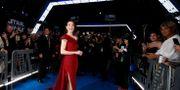 Huvudrollsinnehavaren Daisy Ridley på premiären. MARIO ANZUONI / TT NYHETSBYRÅN