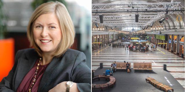 Kerstin Gillsbro, ordförande Jernhusen.  TT