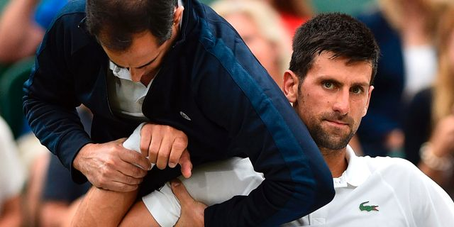 Novak Djokovic GLYN KIRK / AFP