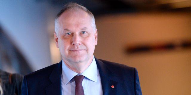 Vänsterpartiets partiledare Jonas Sjöstedt. Arkivbild. Stina Stjernkvist/TT / TT NYHETSBYRÅN