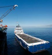 Arkivbild från 2010. Arbetet med att gasledningen Nordstream utanför Slite.  SÖREN ANDERSSON / TT NYHETSBYRÅN