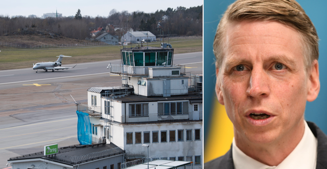 Bromma flygplats/Per Bolund. TT