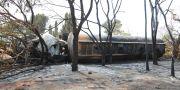 Vraket av tankerbilden som exploderade. Khalfan Said / TT NYHETSBYRÅN/ NTB Scanpix