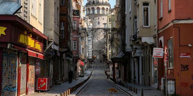 Bild från Istanbul.  Emrah Gurel / TT NYHETSBYRÅN