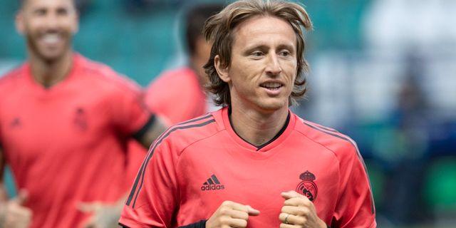 Luka Modric. Pavel Golovkin / TT NYHETSBYRÅN