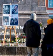 Minnesplats för Wilma Andersson/Tishko Ahmed. TT/Polisen