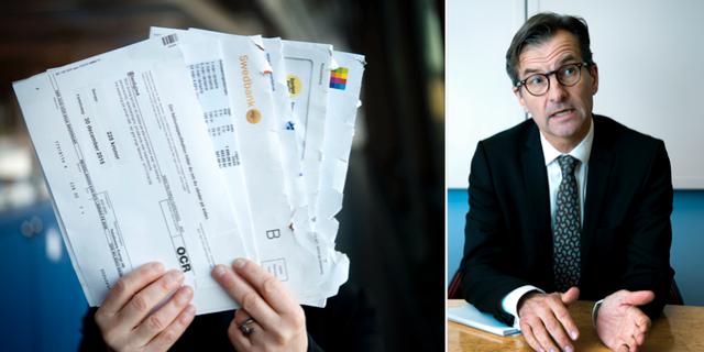 Erik Thedéen, chef för Finansinspektionen.  TT