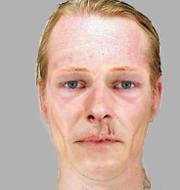 Christian Brückner och fantombilden som togs fram efter mordet på 13-åringen. Polisen