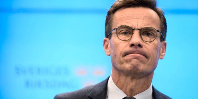Ulf Kristersson.  TT News Agency / TT NYHETSBYRÅN