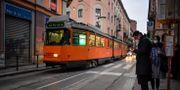 Bild från Milano.  Claudio Furlan / TT NYHETSBYRÅN