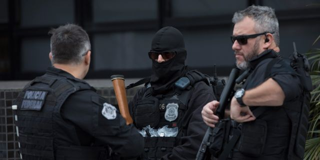 Brasiliansk polis. Arkivbild. Leo Correa / TT / NTB Scanpix