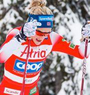 Therese Johaug och Frida Karlsson. Bildbyrån