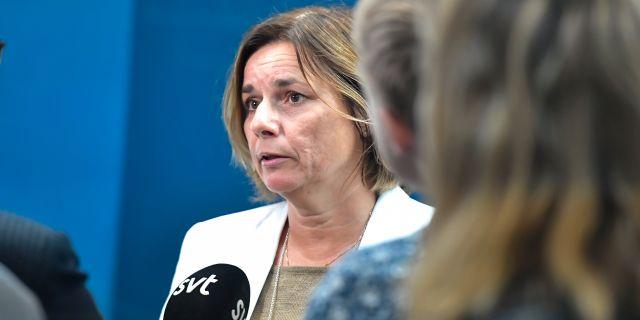 Isabella Lövin.  Karin Wesslén/TT / TT NYHETSBYRÅN