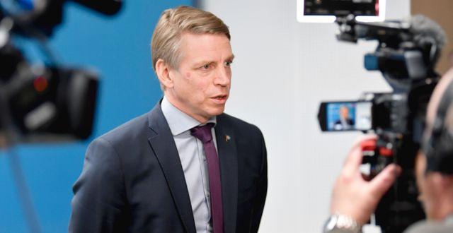 Per Bolund (MP).  Anders Wiklund/TT / TT NYHETSBYRÅN
