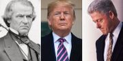Andrew Johnson/Donald Trump/Bill Clinton TT