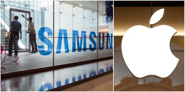 Samsungs huvudkvarter i Gangnam i Seoul. TT