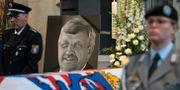 Walter Lübckes begravning. Swen Pfoertner / TT NYHETSBYRÅN/ NTB Scanpix