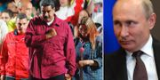 Nicolás Maduro/Vladimir Putin. TT