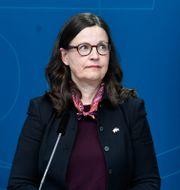 Anna Ekström. Jessica Gow/TT / TT NYHETSBYRÅN