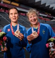 Louise Jannering och Anna Svärdström.  SIMON HASTEGÅRD / BILDBYRÅN