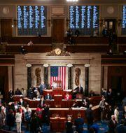 Den amerikanska kongressen. Tasos Katopodis / TT NYHETSBYRÅN