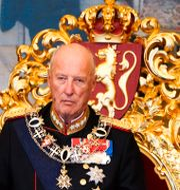 Kung Harald. Terje Pedersen / TT NYHETSBYRÅN