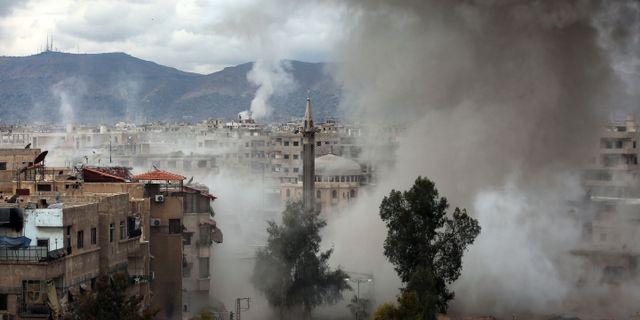AMER ALMOHIBANY / AFP