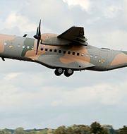 C-295-plan. Arkivbild. Wikimedia Commons.