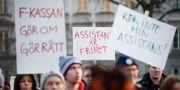 Demonstration för rätten till assistans. Janerik Henriksson/TT / TT NYHETSBYRÅN