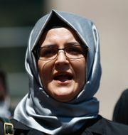 Hatice Cengiz, fästmö till mördade journalisten Jamal Khashoggi, är en av de drabbade.  Emrah Gurel / TT NYHETSBYRÅN