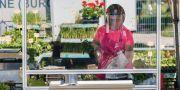 Illustrationsbild: Blomsterhandel på marknad i närheten av spanska Burgos. CESAR MANSO / TT NYHETSBYRÅN