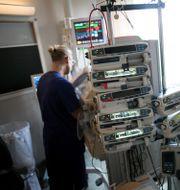 Neonatalavdelningen på Östra sjukhuset i Göteborg. Björn Larsson Rosvall/TT / TT NYHETSBYRÅN
