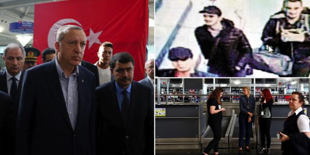 Erdogan/övervakningsbilder av de misstänkta/flygplatsen TT