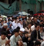 Människor firar eid al-adha i Kabul, Afghanistan. Illustrationsbild. Rahmat Gul / TT NYHETSBYRÅN