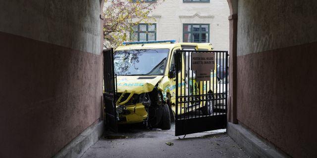 Den kapade ambulansen. Håkon Mosvold Larsen / TT NYHETSBYRÅN