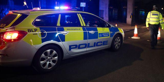 Arkivbild, polisbil i Storbritannien. HANNAH MCKAY / TT NYHETSBYRÅN