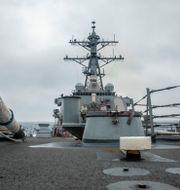 USS Curtis Wilbur. Zenaida Roth / TT NYHETSBYRÅN