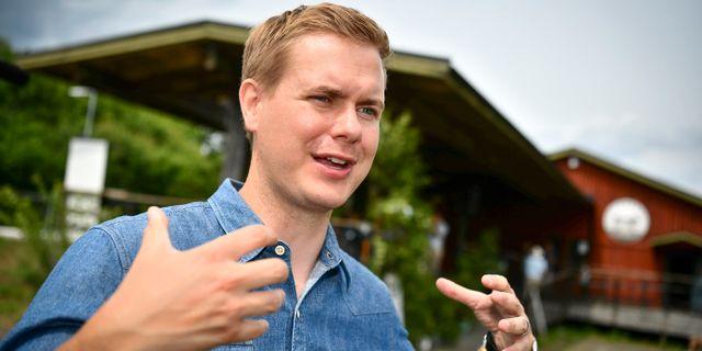Gustav Fridolin (MP). Johan Nilsson/TT / TT NYHETSBYRÅN