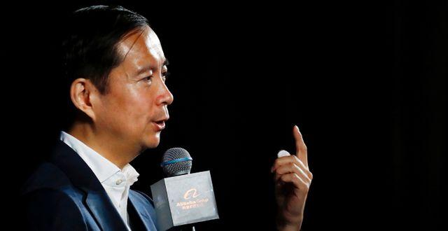 Arkivbild: Alibabas vd Daniel Zhang.  THOMAS PETER / TT NYHETSBYRÅN